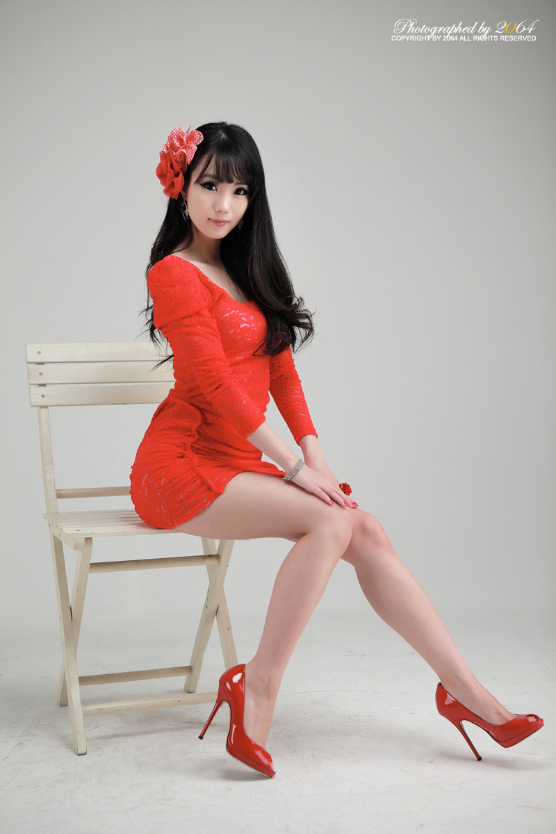 Sexy+Im+Soo+Yeon%21 010 Beautiful Im Soo Yeon Photos in Red Dress