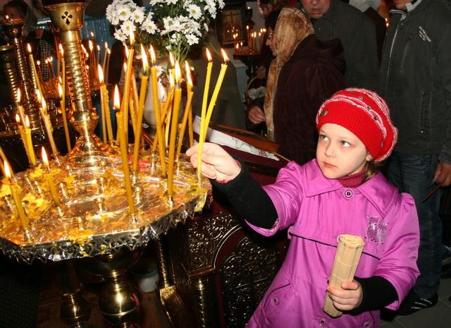 Великоднє богослужіння у троїцькій