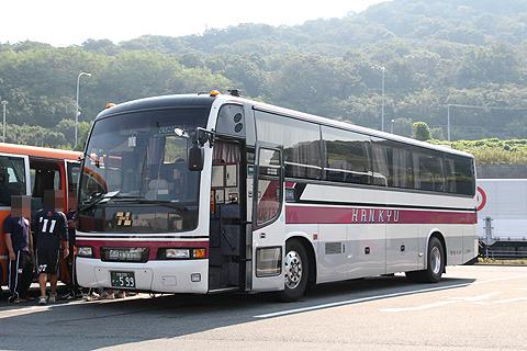 阪急バス「さぬきエクスプレス大阪号」 2780 室津PA休憩中