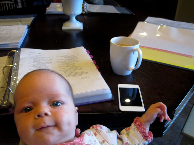 baby and homeschooling