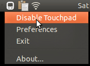 Touchpad Indicator