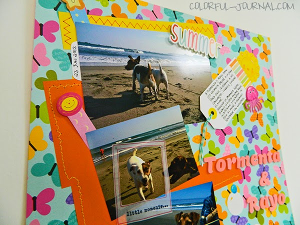 doodlebug design layout dogs jack russells summer beach