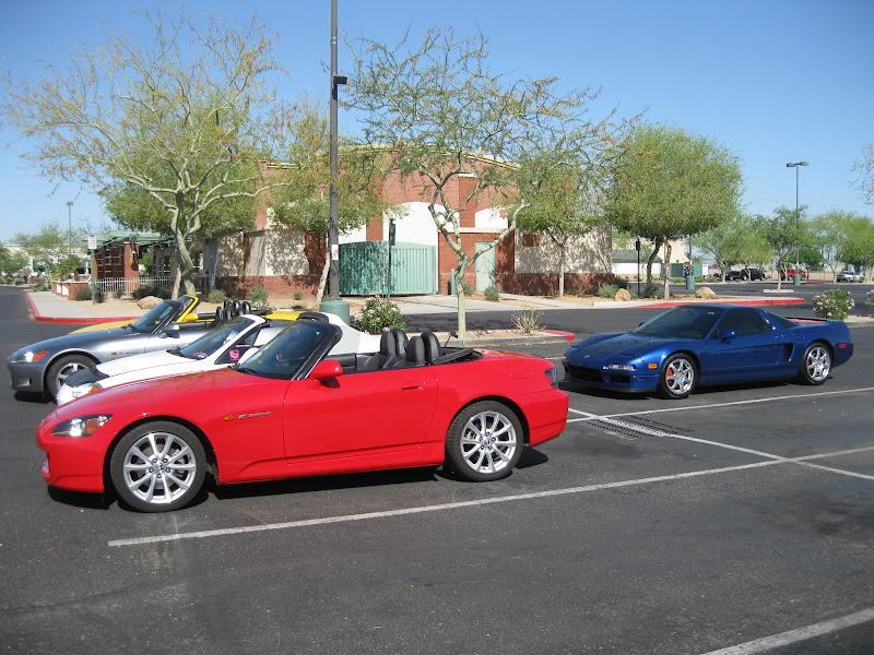 Drive To Tucson And Pavilions Car Show - Pavilions car show