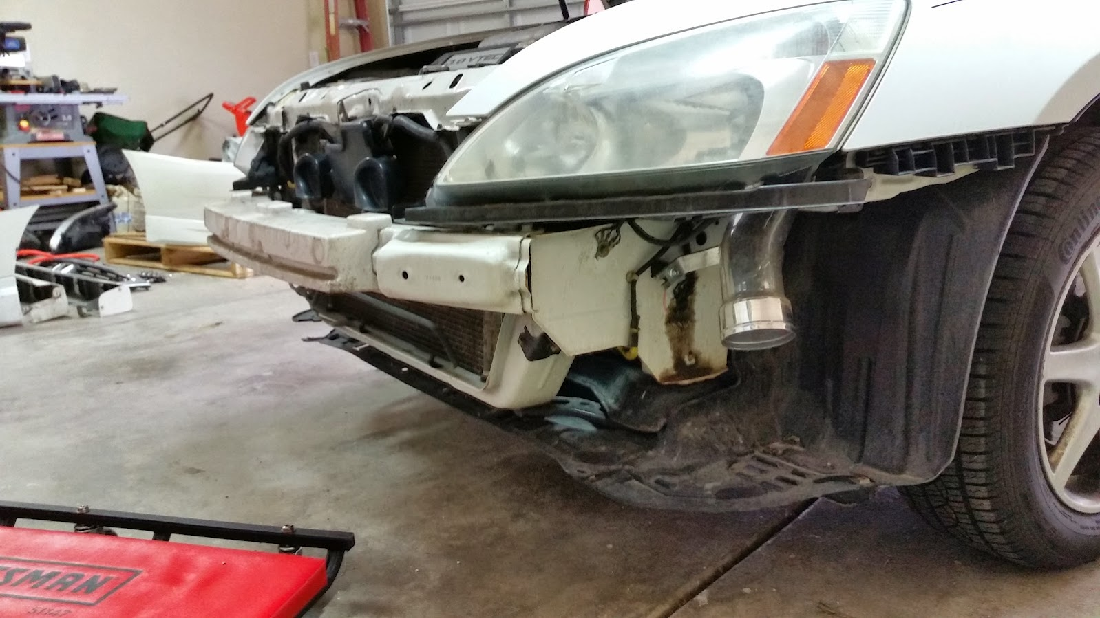 Metalballs Inspire Modulo Gen7 Build Honda Accord Forum V6 Wiring Harness For 03 Ex The Additional That You Can See In This Pic Is From Aftermarket 9000k Hid Low Beam Kit I Had Installed