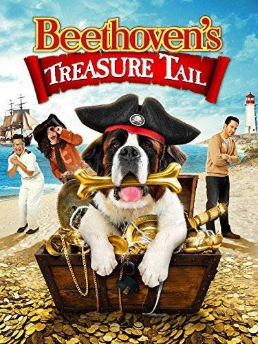 Poster Of English Movie Beethoven's Treasure Tail (2014) Free Download Full New Hollywood Movie Watch Online At Alldownloads4u.Com