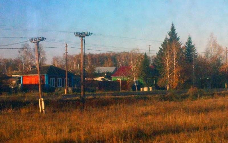 Trans Siberian scenery Russia