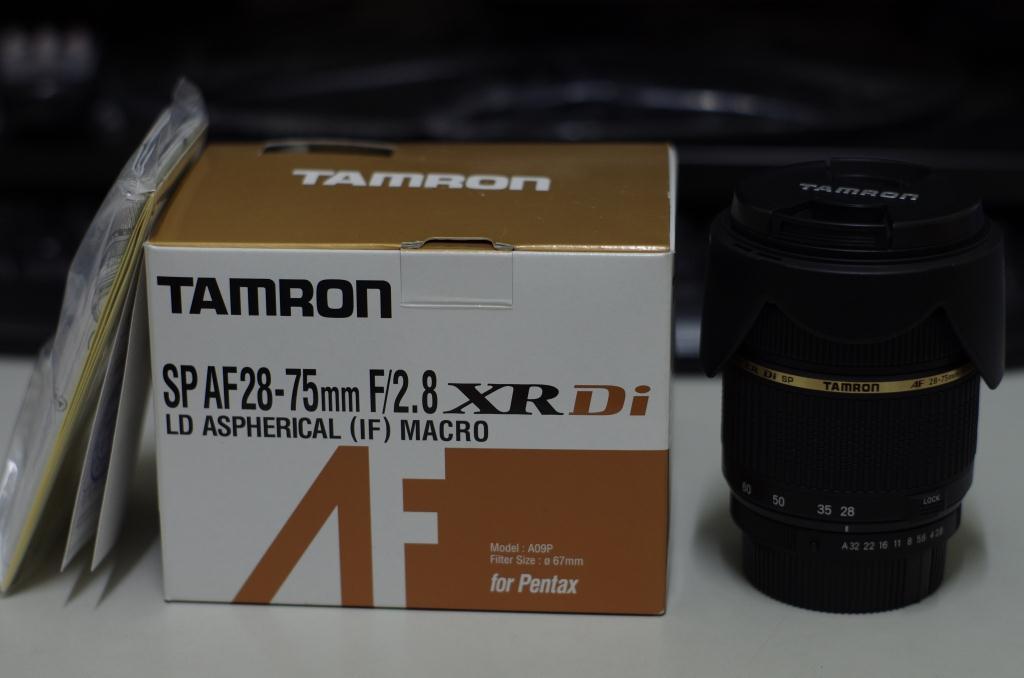 選擇好久的鏡頭 Tamron 28-75mm F2.8 macro