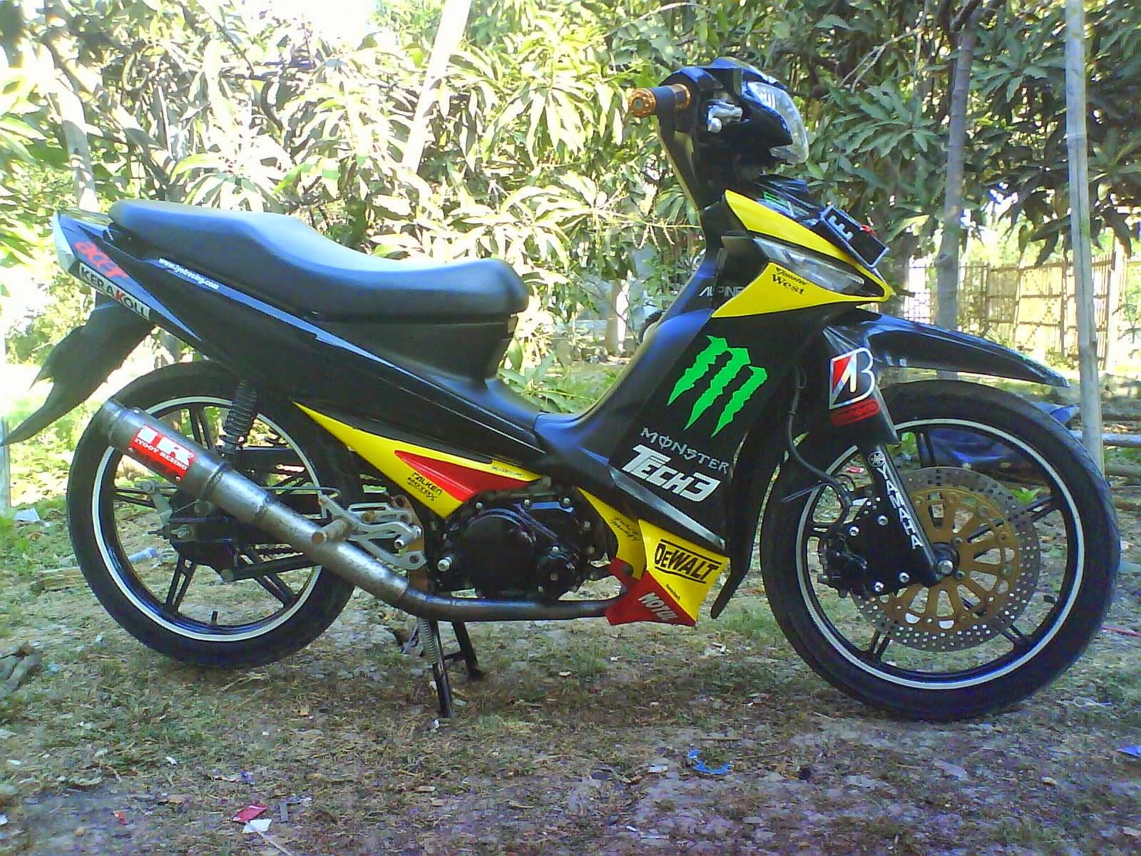 Modif Motor Yamaha Vega 2004