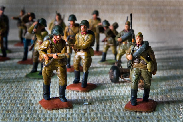 Plasticine Military Miniatures