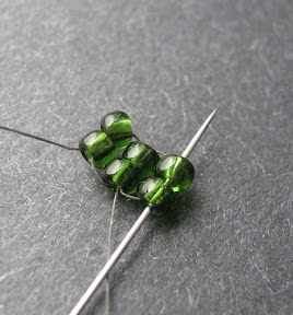 Two Bead Ladder Stitch