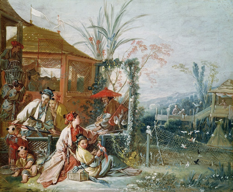 Francois Boucher - The Chinese Hunt