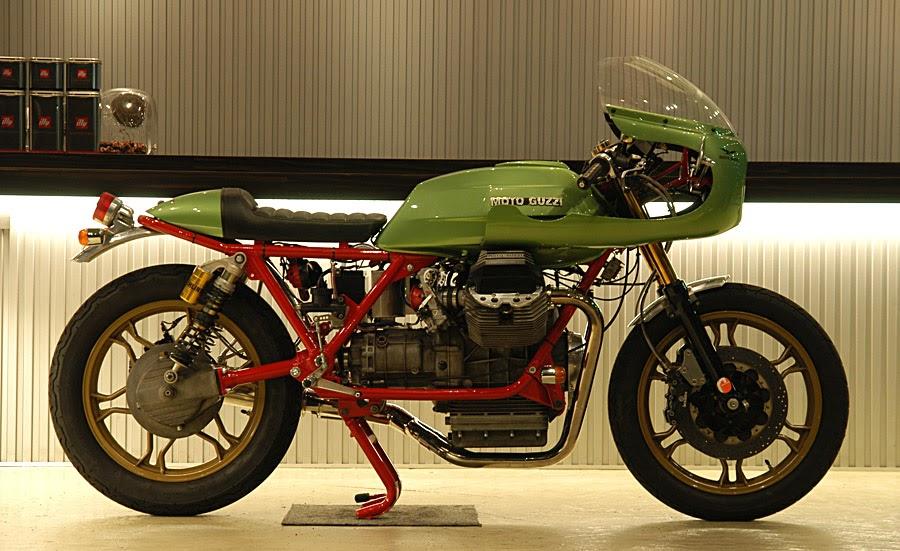 cafe racer special moto guzzi le mans iii special by ritmo sereno. Black Bedroom Furniture Sets. Home Design Ideas