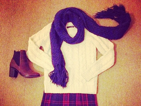 Welcome to my wardrobe: My wee tartan skirt