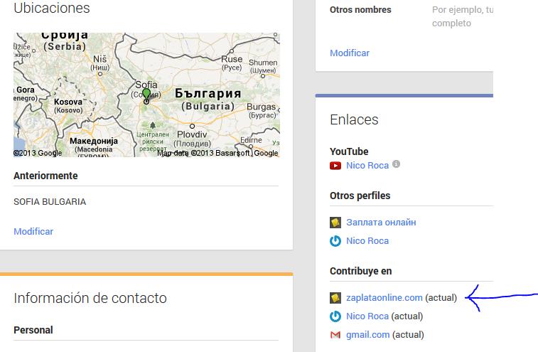 за да излиза снимката, трявба да кажеш на google къде пишеш