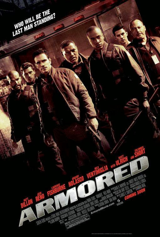 Poster Of Armored (2009) Full Movie Hindi Dubbed Free Download Watch Online At Alldownloads4u.Com