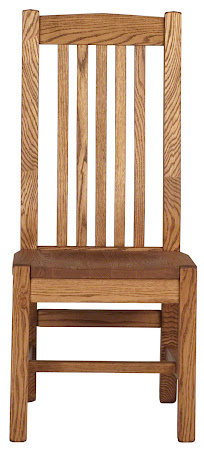 Phoenix Chair in Medium Oak