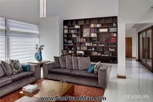 Các mẫu thiết kế nội thất phòng đọc sách P1-20