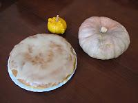 bizcocho de calabaza/pumpkin cake