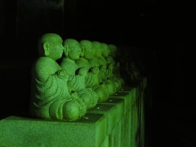 高尾山 夜景 薬王院