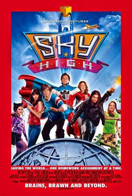 Poster Of Sky High (2005) Full Movie Hindi Dubbed Free Download Watch Online At Alldownloads4u.Com