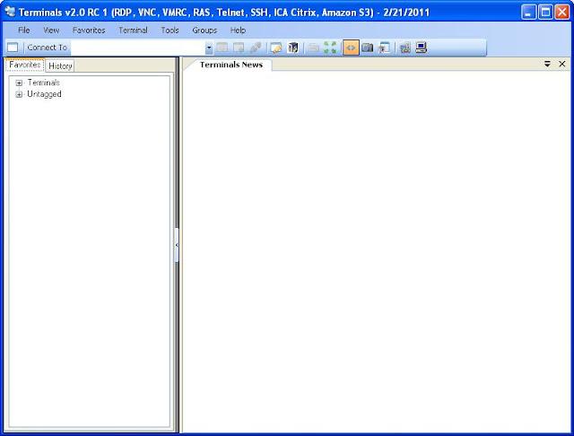 Terminals SSH telnet client for windows