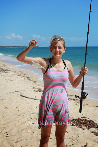 Madi Bray Fishing