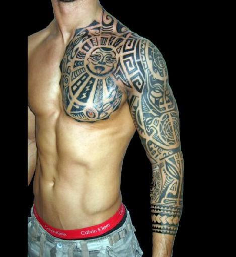 aztec tattoo free tattoo pictures. Black Bedroom Furniture Sets. Home Design Ideas