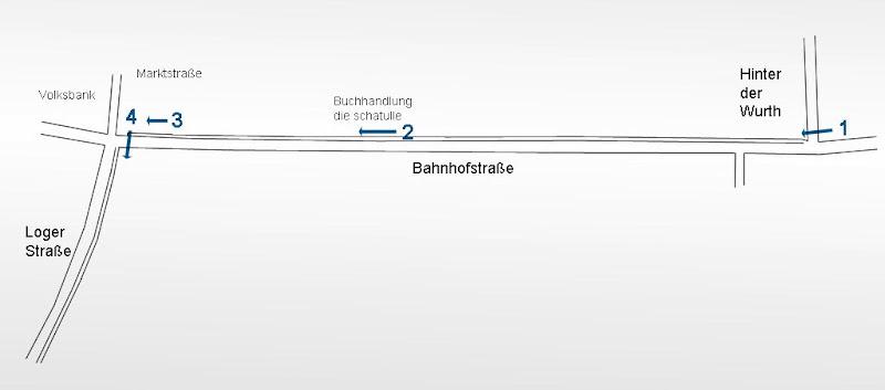 Radweg Bahnhofstraße in Osterholz-Scharmbeck