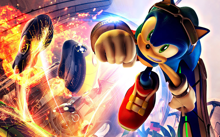 Vài hình nền đẹp về chú nhím xanh Sonic - Ảnh 3