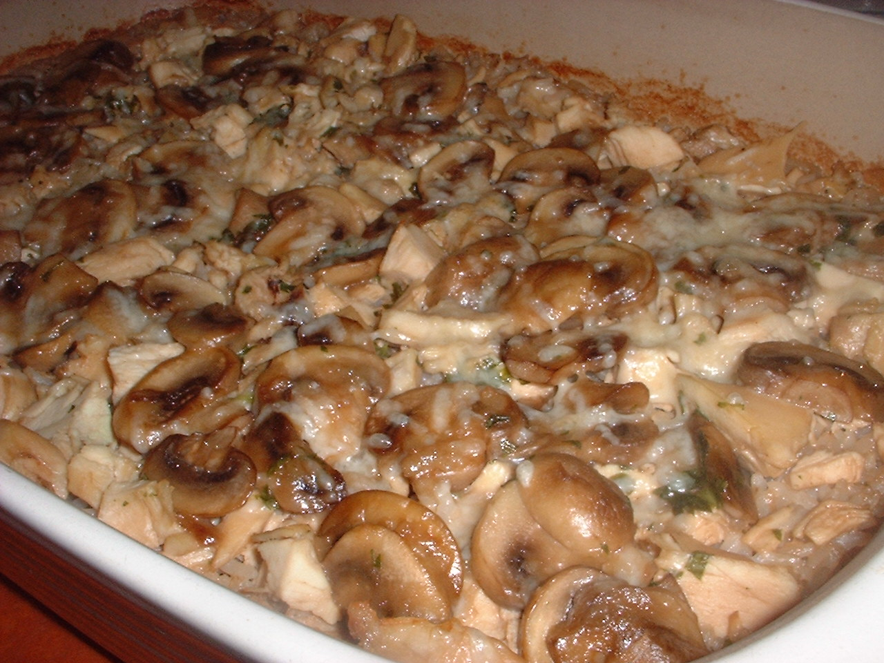 Marsala Chicken and Mushroom Casserole from Every Day with Rachael Ray ...