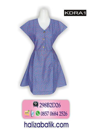 grosir batik pekalongan, Dress Batik, Model Dress, Batik Modern