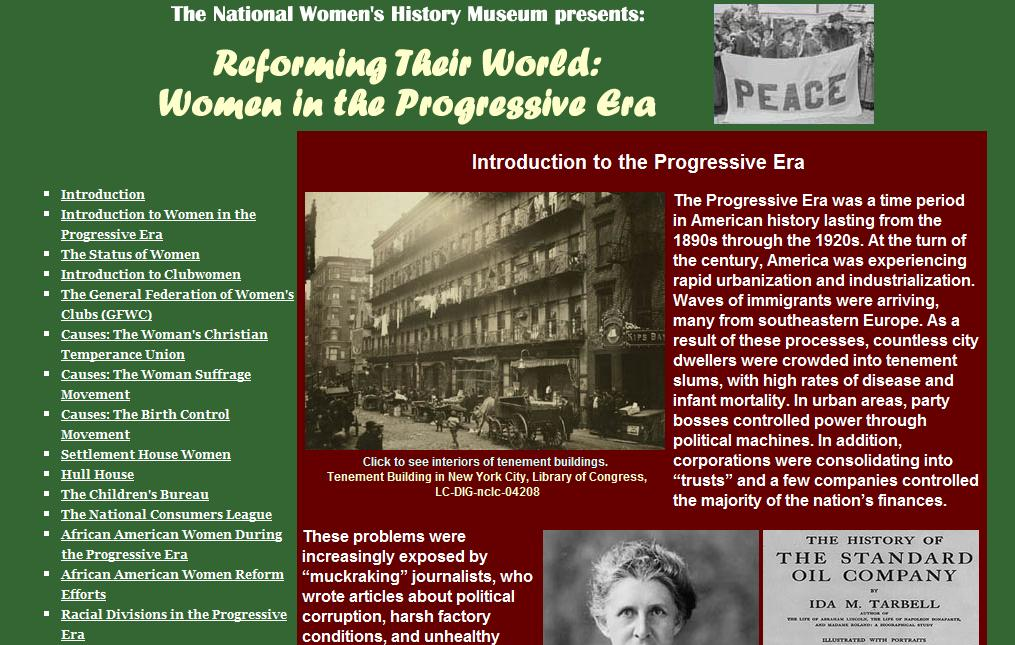 an introduction to the history of the progressive era Find out more about the history of labor movement, including videos, interesting articles, pictures, historical features and more  introduction   as far back as the progressive era .