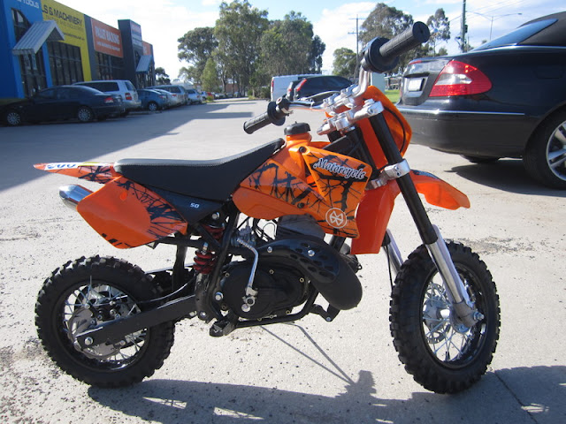 50cc KTM Replica 2 Stroke Kids Dirt Bike