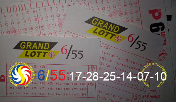 July 17, 2013 PCSO Lotto Results
