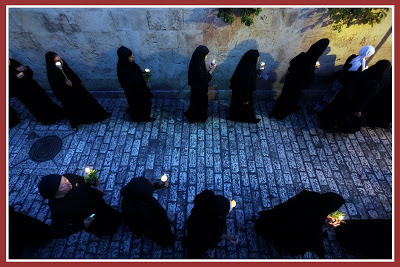 Novices enter Russian Catholic monastery in Rome