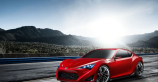 Scion's red aggresive FR-S Concept unveiled at New York International Autoshow [VIDEO]