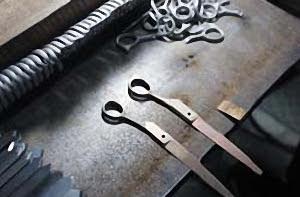 Производство ножниц в Японии