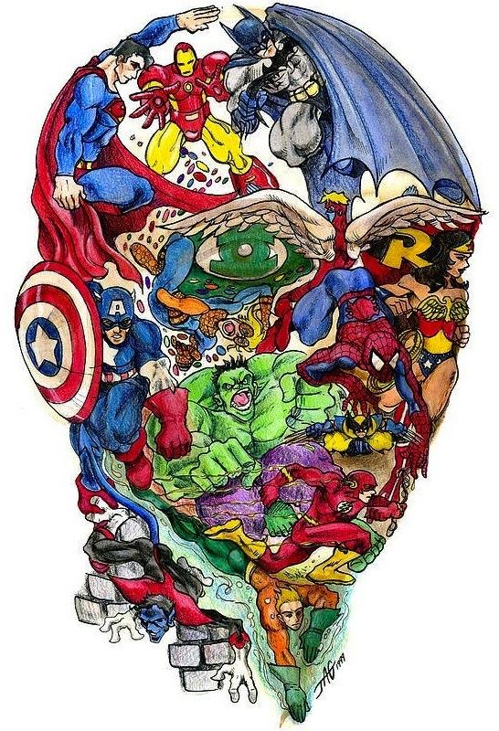 Πόσοι υπερήρωες μπορείτε να βρείτε;