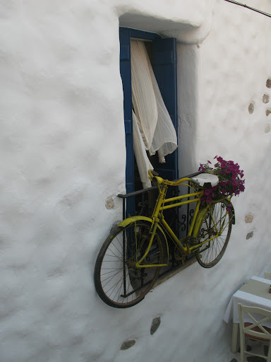 En el barrio El Burgos de Naxos