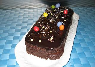 Buche biscuitée au chocolat - recette indexée dans les Desserts