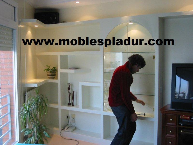 Pladur barcelona estanter a de pladur - Estanterias pladur ...