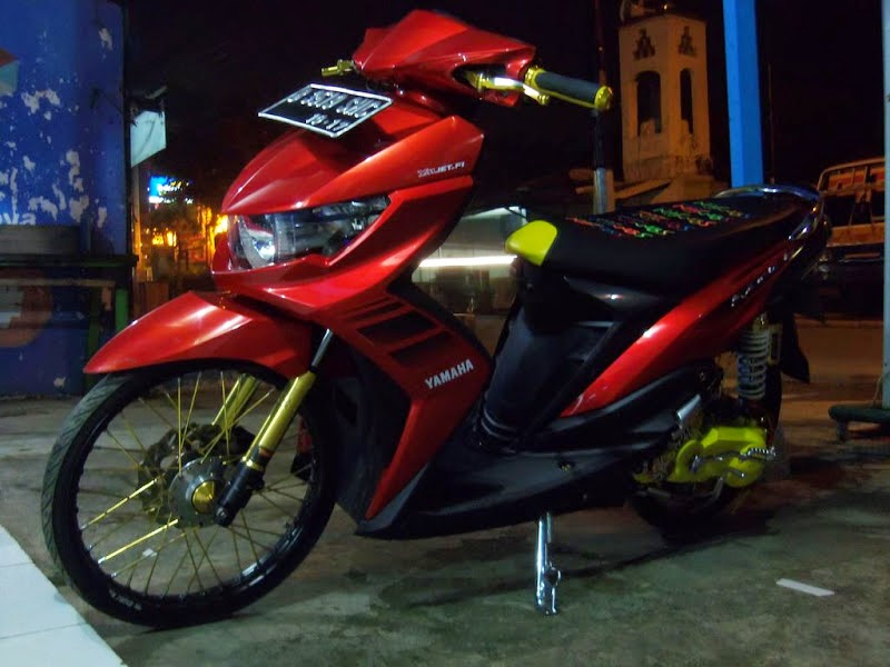 Modifikasi Mio Soul Gt Simple