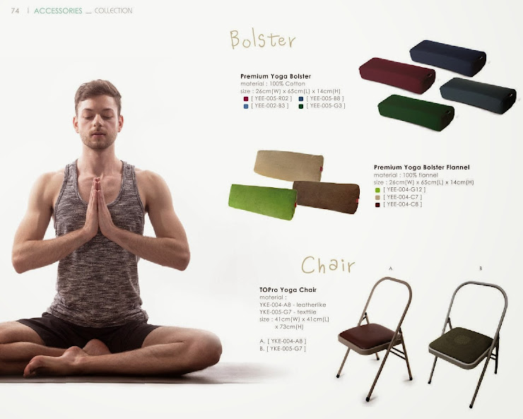 easyoga 頂級專業瑜珈抱枕(yee-005) 頂級專業瑜伽抱枕-絨布(yee-004) 專業瑜珈輔助皮椅(YKE-004)