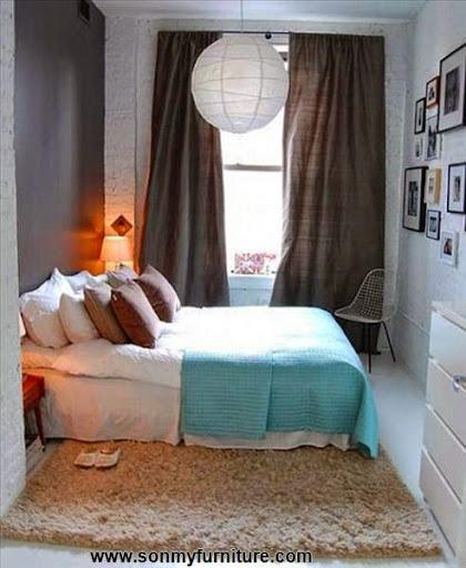 Mẫu thiết kế cho phòng ngủ vẫn đẹp trong nhà chật-2