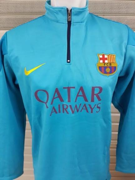 Jual Sweater Barcelona Warna Biru Terbaru 2014