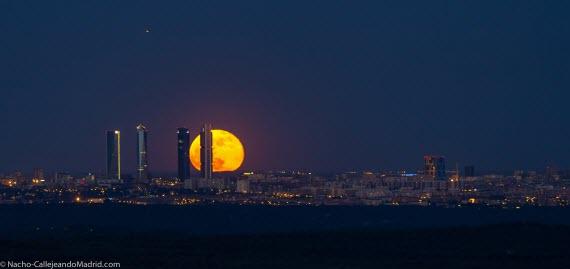 Dos panorámicas espectaculares de la Ciudad de Madrid