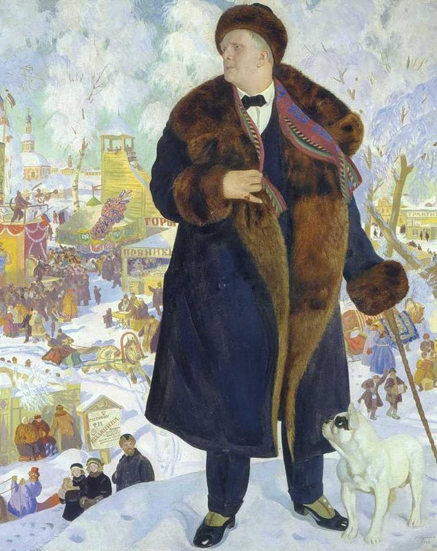 сочинение по картине к м кустодиева портрет ф и шаляпина