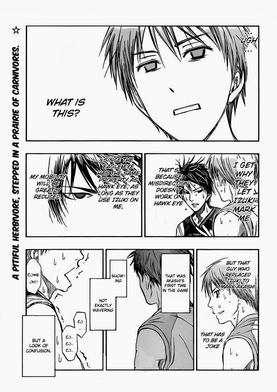 Kuroko no Basket Manga Chapter 240 - Image 01