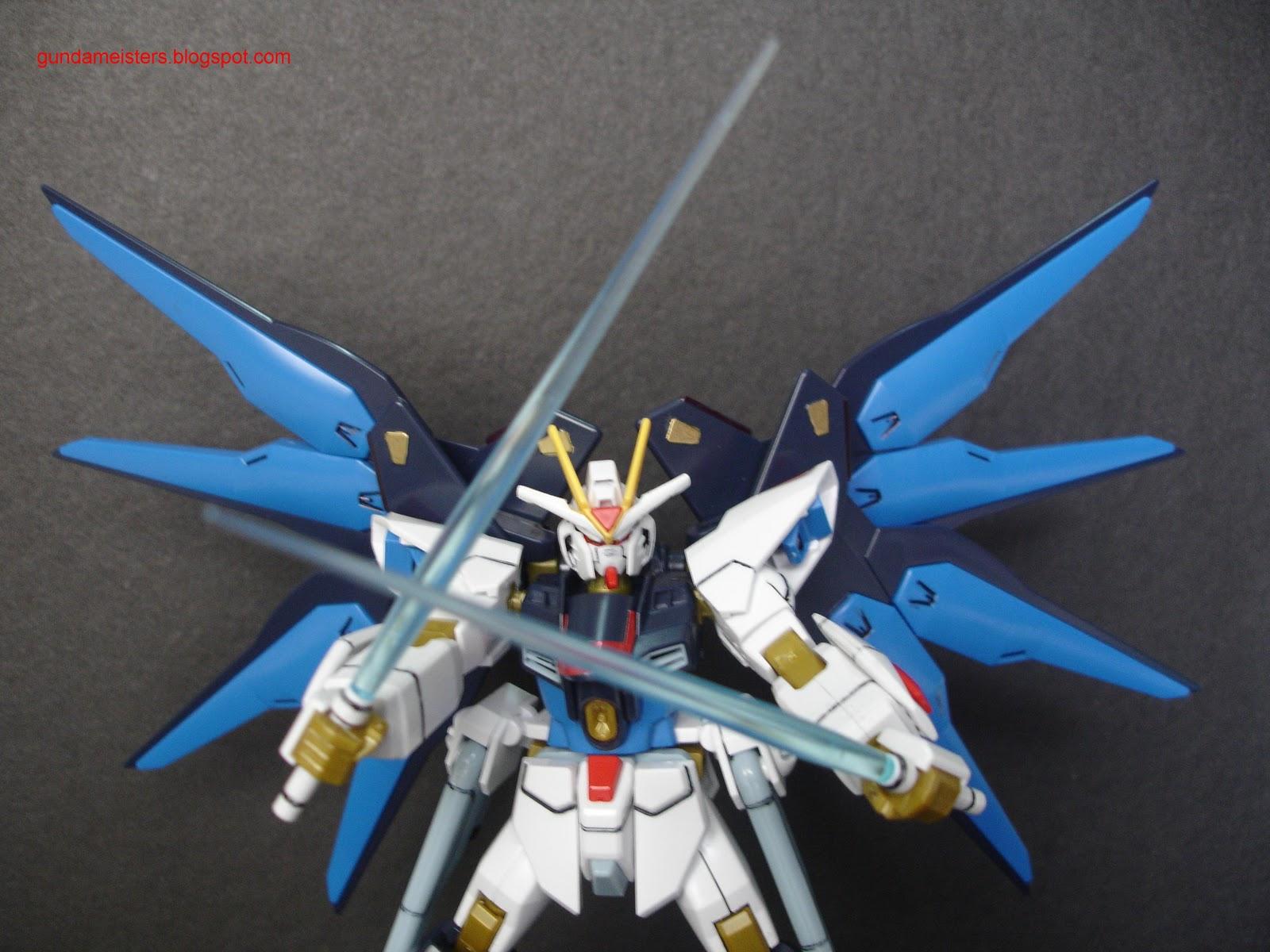 Gundam For The Barrel: Gundam Meisters: Review: HG 1/144