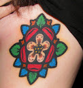 Tudor rose tattoo Designs 5